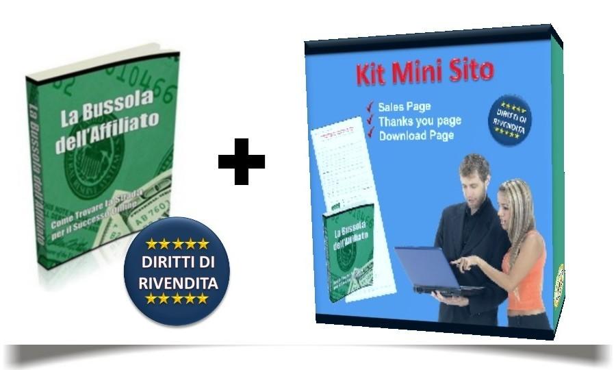 eBook + Mini Sito + Diritti di Rivendita